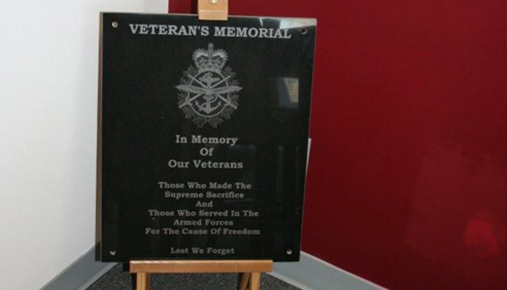 Historical/Parks - Veterans Memorial